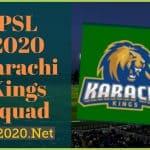 PSL 2020 Karachi Kings Squad, Schedule, News, Scores for PSL 5