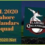 PSL 2020 Lahore Qalandars Squad, Schedule, News, Scores for PSL 5