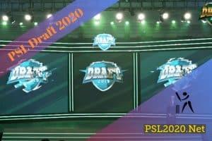 PSL 2020 Draft