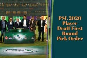 PSL 2020 Player Draft