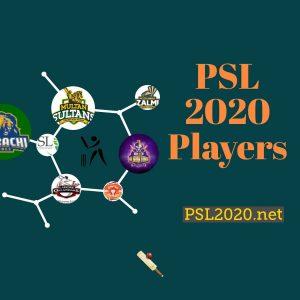 PSL 2020 Players