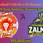 Islamabad United vs Peshawar Zalmi | PSL 2020 Match 13 Live Score, Highlights