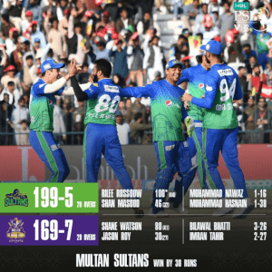 Multan Sultans Win