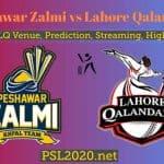 Peshawar Zalmi vs Lahore Qalandars Live Score, Highlights, PSL 2020