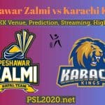 Peshawar Zalmi vs Karachi Kings | PSL 2020 Match 15 Live Score, Venue,