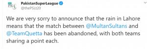 Quetta Gladiators vs Multan Sultans Match 25